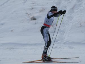 Cross Country Skier Andy Pohl Smashes PB