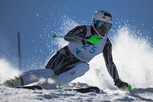 Adam Barwood and Harriet Miller-Brown Victorious at National Slalom Championships