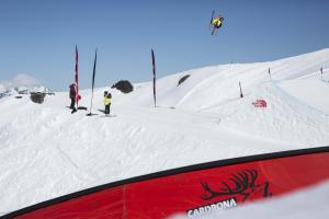 Jossi Wells, James Woods Top Slopestyle Qualifiers at The North Face® Freeski Open of NZ