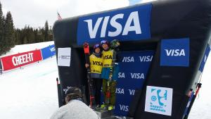 First Place for Janina Kuzma in Copper Mountain