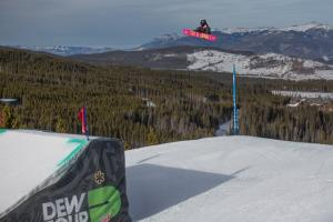Podium Dream for Christy Prior at Dew Tour