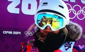Disappointment for Rebecca Sinclair in Sochi