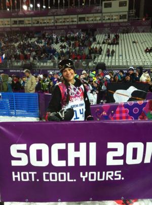 Janina Kuzma 5th in Olympic Finals