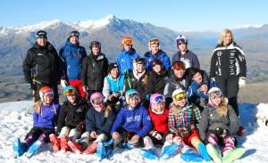 Development Camp Fostering Top Ski Racing Talent