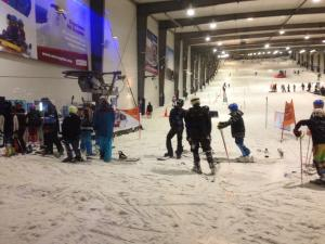Young Racers Test Skills at Snowplanet