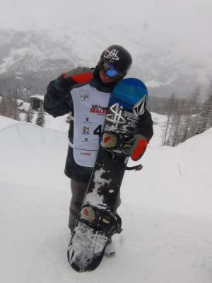 Lyon Farrell 2nd at Junior World Champs in Men's Snowboard Halfpipe