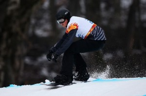 Fourth Place for Carl Murphy in Paralympic Snowboard Cross