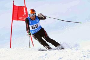 Masters Ski Racer Celebrates Successful Season