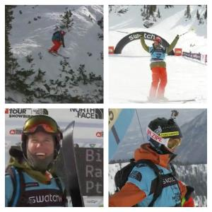 Third Place for Sam Smoothy at FWT Snowbird Stop