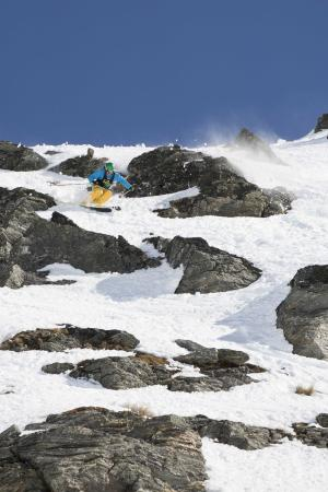 Stacked Field at The North Face® Freeski Open of NZ Big Mountain