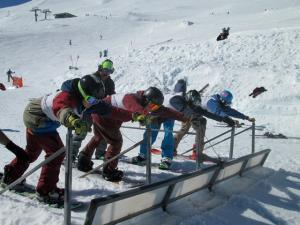 Another Epic Day at Turoa for Secondary Schools Snowboard Comp