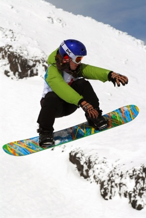 K2 - QRC North Island Secondary Schools Snowboard Competition 2014
