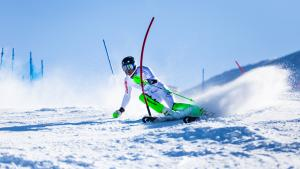 Podium Finish for Piera Hudson and Willis Feasey at Coronet Cup Slalom