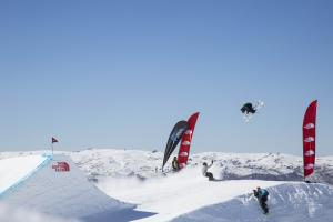 Jossi Wells Tops Qualifiers at The North Face® Freeski Open of NZ Slopestyle