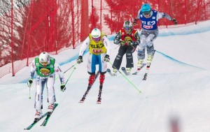 PB for Jamie Prebble at Ski Cross World Cup