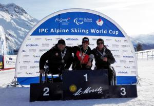 Third Place Overall for Corey Peters at IPC World Cup Finals