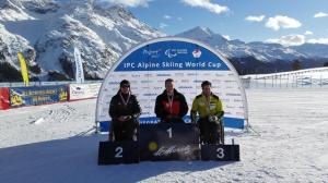 Silver Medal for Corey Peters at IPC World Cup Finals