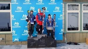 Third Place for Byron Wells at USSA Revolution Tour