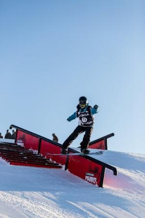 Young Freeskiers and Snowboarders Take Competition to the Next Level
