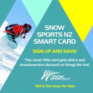 Get to the Snow for Less with Snow Sports NZ Smart Card