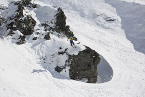 Heavy Hitting Field at The North Face® Frontier 2* Freeride World Qualifier