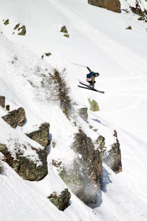 Craig Murray Wins Junior Freeride Tour in Chamonix