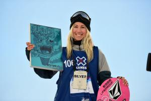 Christy Prior Wins X Games Silver Medal in Snowboard Big Air