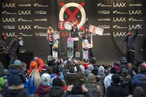 Christy Prior Second at Laax Open