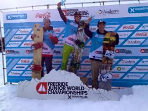 Finn Duffy Third at Freeride Junior World Champs