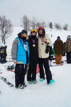 Win for Adie Lawrence at Freeski Slopestyle Europa Cup