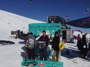 Kiwis on Form at Swiss Freeski Open, Alec Savery with the Win