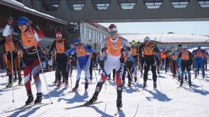 US Olympians Mix with Worldloppet Masters and Local School Kids at the 2016 Merino Muster