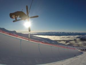 Skiers and Snowboarders Warm Up for Audi quattro Winter Games NZ with first Halfpipe Competition of the NZ Season