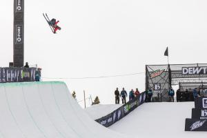 Miguel Porteous Through to Freeski Superpipe Finals at Dew Tour
