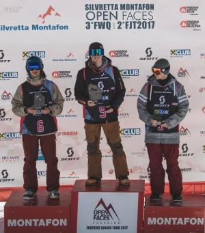 Finn Duffy Wins Freeride Junior Tour Comp in Austria