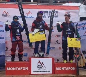 Sam Lee Wins Freeride World Qualifier in Montafon