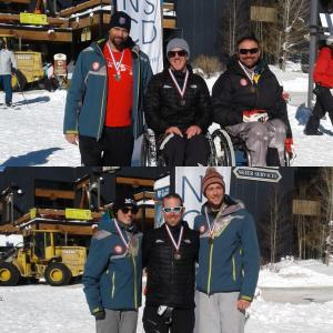 Super-G Gold for Adam Hall and Corey Peters