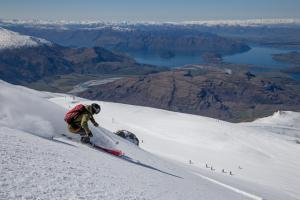 Treble Cone Named as Resort Partner to New NZ Freeride Team