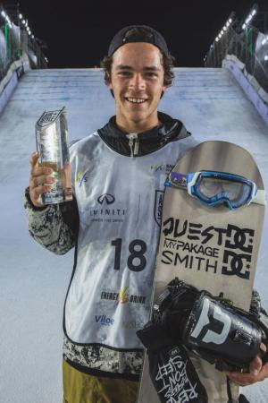 NZ Snowboarder Tiarn Collins Starts Season with World Cup Medal