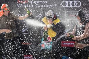 Kiwis Land Medals at Audi quattro Winter Games NZ Snowboard Slopestyle World Cup