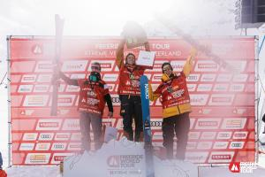 Craig Murray Second in Spectacular Freeride World Tour Finale