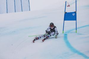 Piera Hudson 4th at ANC GS - Winter Games NZ