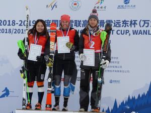 Slalom Medal for Piera Hudson in China; Porteous, Wells Through to Finals at Freeski Halfpipe World Cup in USA