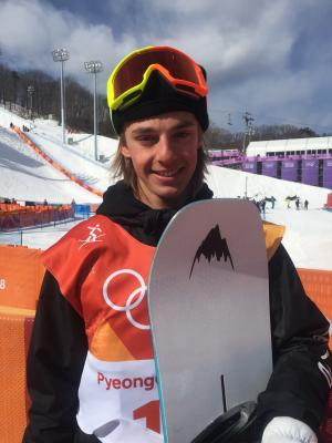 Carlos Garcia Knight 5th in Olympic Snowboard Slopestyle