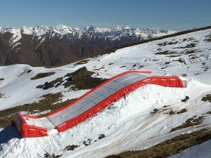 NZ Snow Sports Athletes Focus on Progression with New Landing Bag to be Installed at Cardrona