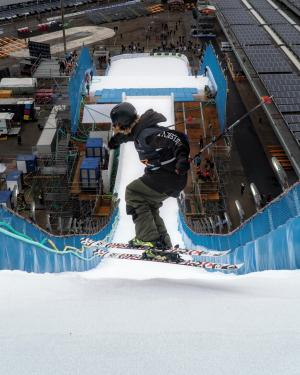 Strong Start to Season for NZ Park & Pipe Team, with Finn Bilous 8th at Big Air World Cup