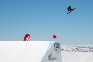 Jackson Wells in Top Five at Freeski Big Air World Cup Qualifiers