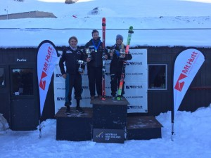 Alice Robinson and Willis Feasey Crowned National Super-G Champions