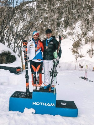 ANC Win for Piera Hudson at Mt Hotham