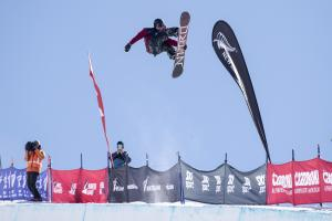 Rakai Tait 4th, Fletcher Craig 5th at ANC Halfpipe at Winter Games NZ